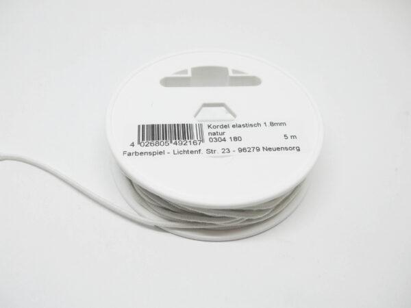 Kordel elastisch, 5m/1,8mm