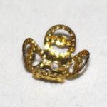 Perlkappe 8mm, 10 St., verschiedene Farben und Formen