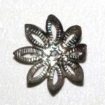 Perlkappe Blume 12mm, 10 St., verschiedene Farben