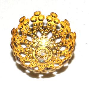 Perlkappe 17mm, 10 St., verschiedene Farben