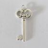 Anhänger Schlüssel 50mm antiksilber
