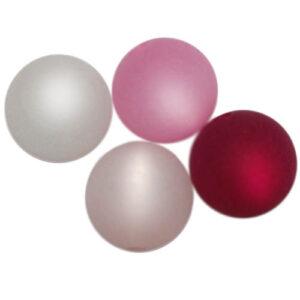 Polaris Perlen-Mix, 14mm, 12 St., verschiedene Sets – Mischung nach Farben