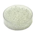Rocailles Glasperlen transparent, 2.6mm rund, 17g im Döschen, verschiedene Farben
