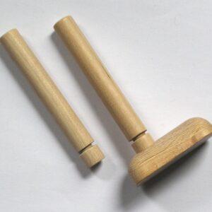 Zubehör für Marionetten und Puppen zum Selbstbasteln, Hände – Füße – Arme – Beine, je 4 Stück, Holz