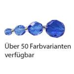 Glasschliffperlen, 4mm, 50 St., verschiedene Farben
