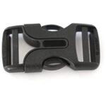 Steckverschluss, 60x30mm, schwarz
