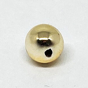 Wachsperlen, 8mm, 15 St., gold oder silber