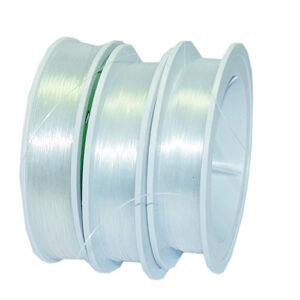 Nylonschnur, transparent, 50m, verschiedene Stärken 0,15mm/0,25mm/0,30mm/0,35mm/0,50mm