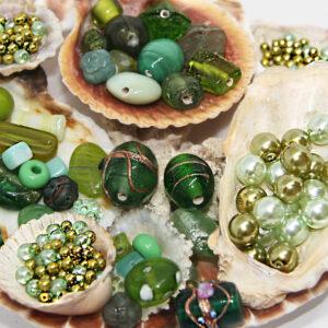 Perlen, Schmuckteile & Anhänger