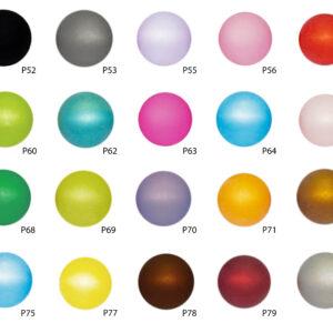 Perle Polaris, verschiedene Farben, 6mm/8mm/10mm/12mm/14mm/16mm/20mm