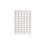 Strass-Steine zum Kleben, 100 Stück 3mm, kirstall oder kristall AB
