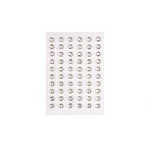 Strass-Steine zum Kleben, 70 Stück 5mm, kirstall oder kristall AB