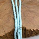 Katsuki Perlen 5mm mit 1,9 mm Loch, bunte Perlen aus Polymer Clay, mind. 300-350 St./Strang, verschiedene Farben