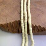 Katsuki Perlen 6mm mit 1,8 mm Loch, bunte Perlen aus Polymer Clay, ca. 330-350 St./Strang, verschiedene Farben